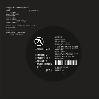 Computer Controlled Acoustic Instruments pt2 EP by Aphex Twin