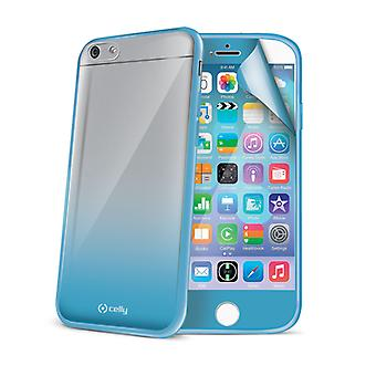 Celly's Sunglasses Case for iPhone 6 with Screen Protector - Light Blue
