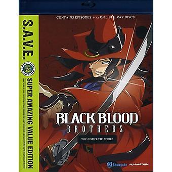 Hermanos de sangre negros: importación de los E.e.u.u. sistema de la caja-S.a.V.E. [BLU-RAY]