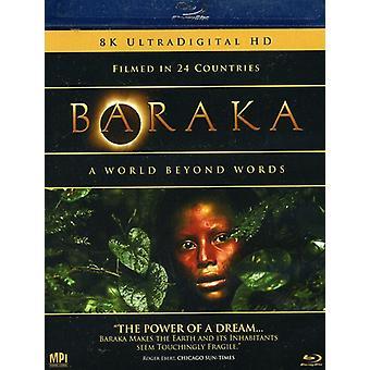 Baraka [BLU-RAY] USA importerer