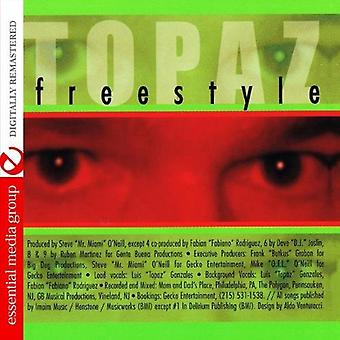 Topaz - Freestyle [CD] USA importeren