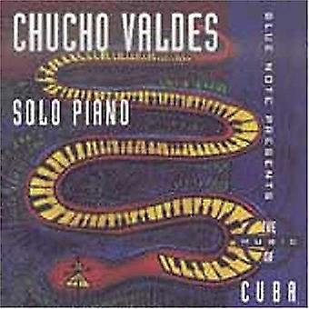 Chucho Valdes - Solo Piano [CD] USA import