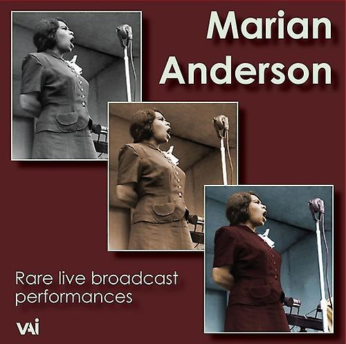 Marian Anderson - Rare Live Broadcast Performances [CD] USA import