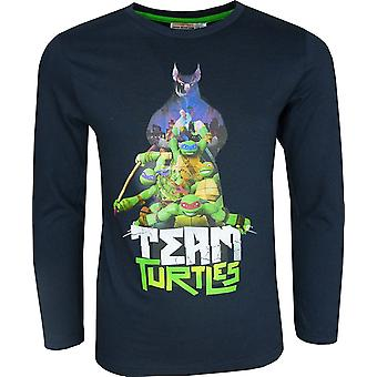 Boys Ninja Turtles Long Sleeve Top / T-Shirt