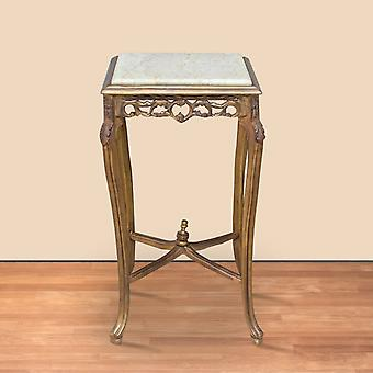 side table round antique style baroque AlTa0332GoFS