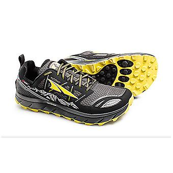 Altra Lone Peak 3.0 Neoshell Low Mens Shoes Black/Yellow
