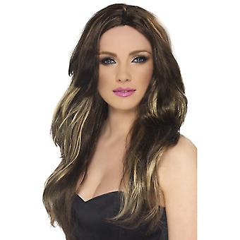 Temptress wig Brown and blond long wavy