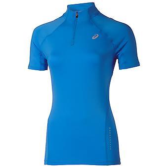 ASICS vrouwen korte mouw 1-2 zip top shirt - 121646-0830