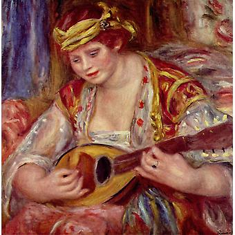 Pierre Auguste Renoir - Playing Music Poster Print Giclee