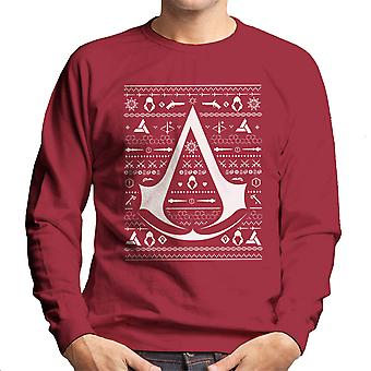 Christmas Strik Assassins Creed mænds Sweatshirt