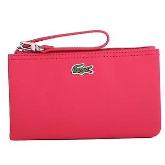 Lacoste Clutch Bag - Virtual Pink