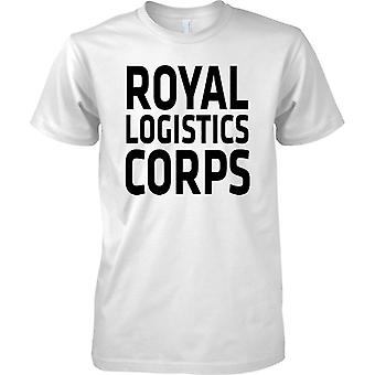 Licensed MOD -  British Army Royal Logistics Corps - Text - Kids T Shirt
