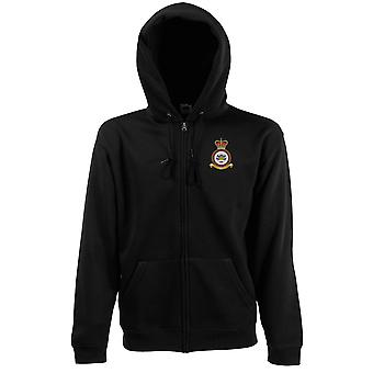 SERE Survive Evade Resist Exctract Embroidered Logo - Official RAF Royal Air Force - Zipped Hoodie Jacket
