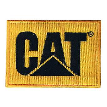 CAT iron-on/sew-on cloth patch   (os)