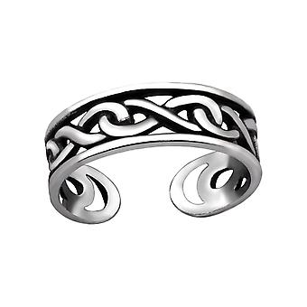 Chain - 925 Sterling Silver Toe Rings - W29398X