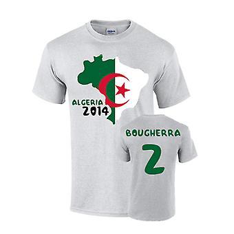 Algeria 2014 Country Flag T-shirt (bougherra 2)
