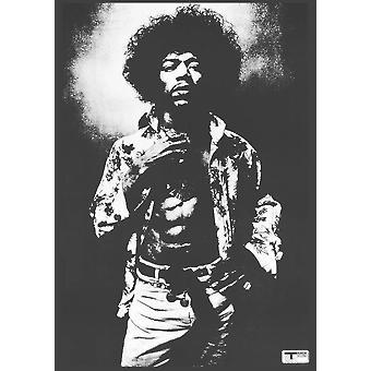 Jimi Hendrix piste affiche Poster Print