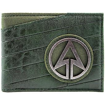 DC Comics Arrow Superhero Emblem ID & Card Bi-Fold Wallet