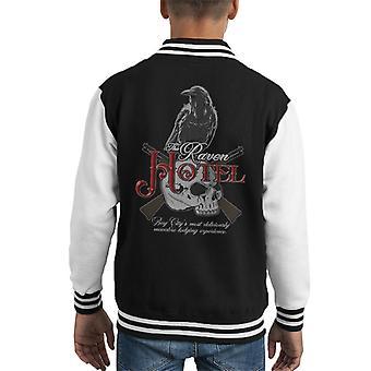 The Raven Hotel Altered Carbon Kid's Varsity Jacket