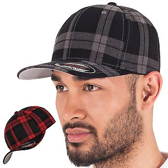Flanella stretchable TARTAN PLAID Flexfit Cap