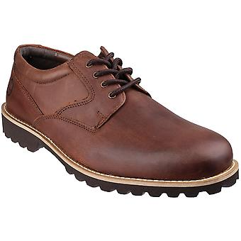 Cotswold Mens Tuffley Oiled Leather Casual Oxford Shoes