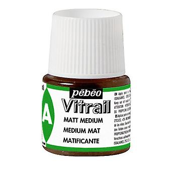 Pebeo Vitrail Matt Medium 45ml