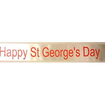 Happy St. Georgs dag Sash