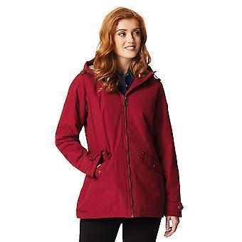 Regatta Womens/Ladies Bergonia Waterproof Fur Lined Hooded Coat Jacket