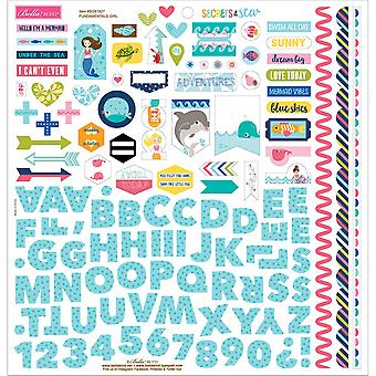 Secrets Of The Sea - Girl Cardstock Stickers 12