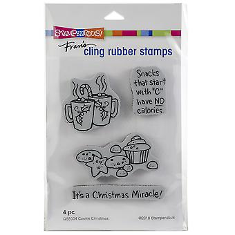 Stampendous Cling Stamp -Cookie Christmas