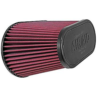 Airaid 721-128 Universal Clamp-On Air Filter: Oval Tapered; 4.5 in (114 mm) Flange ID; 7.375 in (187 mm) Height; 11.5 in