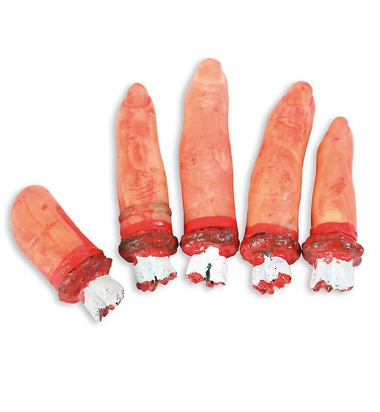 Decoration-finger m.Blut Halloween stub split off horror