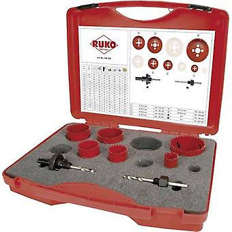 RUKO 106302 106302 Hole saw set 8-piece 1 Set