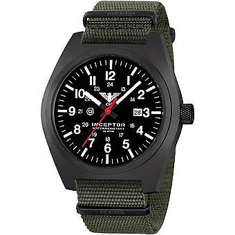 KHS acero interceptor negro reloj de KHS. INCBS.NO