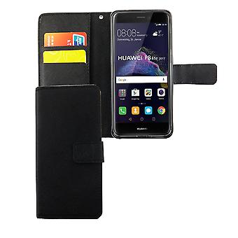 Mobile phone case pouch for mobile Huawei P8 Lite 2017 black