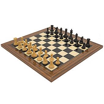 The Sovereign Palisander Staunton Chess Set