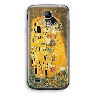 Samsung Galaxy S4 Mini Transparent Case (Soft) - Der Kuss
