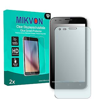 Kazam Trooper X5.0 Screen Protector - Mikvon Clear (Retail Package with accessories)
