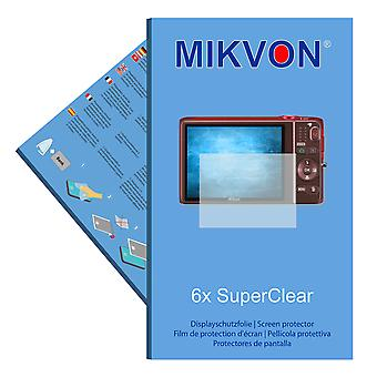 Nikon COOLPIX S6500 screen protector- Mikvon films SuperClear