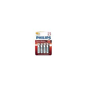 Philips LR6P4B AA Alkaline Batterij 4 Stuks