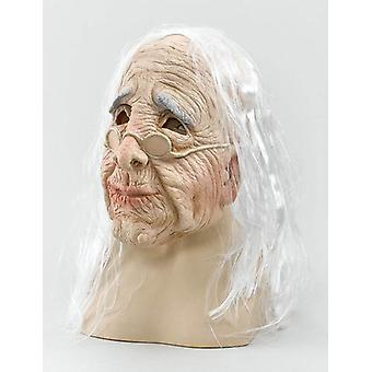 Old Woman Mask & Hair.