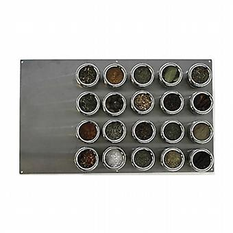 Soho Spice Rack 20 pieces with base SHS1850004