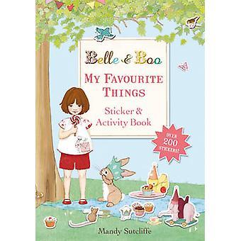Min favorit ting - en mærkat og aktivitet bog af Mandy Sutcliffe-