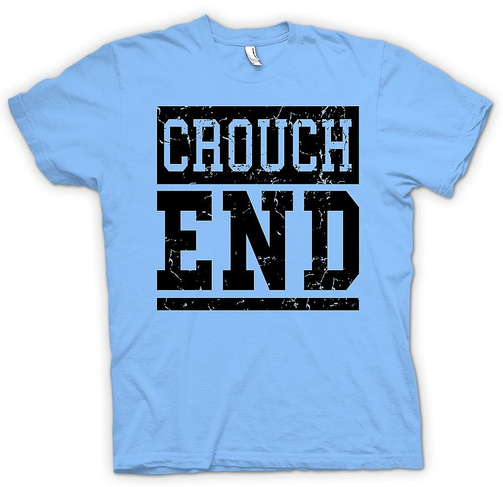 Mens T-shirt - Crouch End - Cool Funny London as worn by Simon Pegg