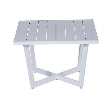 Table d'appoint jardin Impressions Ivy 62, 5 x 62, 5xH47 cm-blanc