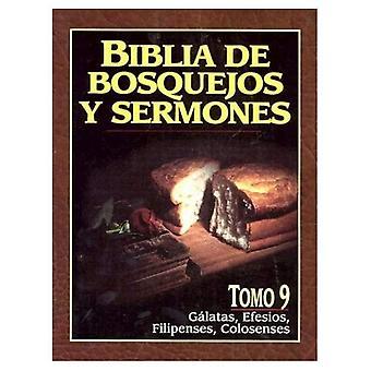 Biblia de Bosquejos y Sermones-RV 1960-Galatas, Efesios, Filipenses, Colosenses