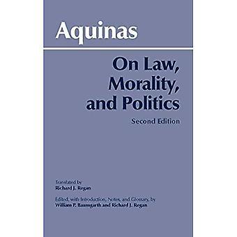 Sulla legge, morale e politica
