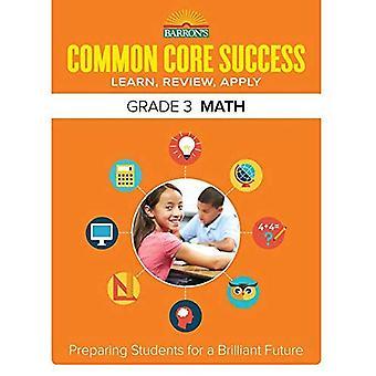 Barron's Common Core Success Grade 3 Math Workbook (Barron's Common Core Success Workbooks)