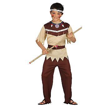 Jongens Indiaanse Cherokee Indische Fancy Dress kostuum