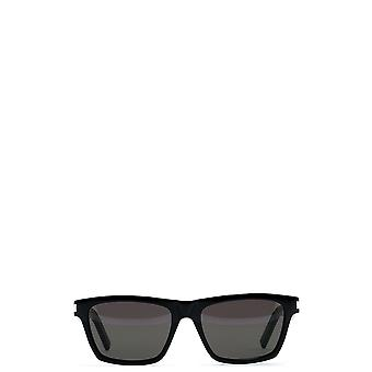 Saint Laurent Black Pvc Sunglasses